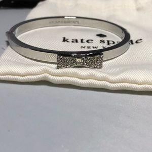 Kate Spade silver crystal bangle